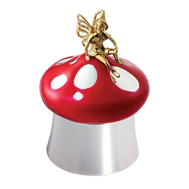 Carrs Silver Red Toadstool Tooth Keepsake with Fairy
