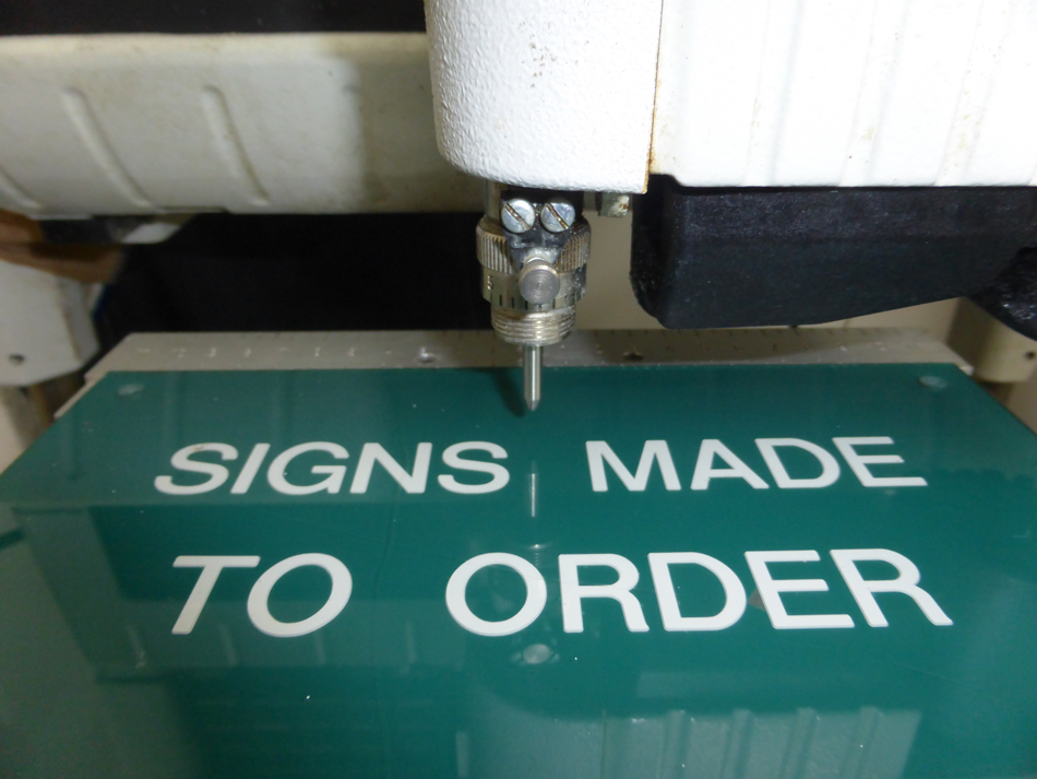 Signs Made to Order
